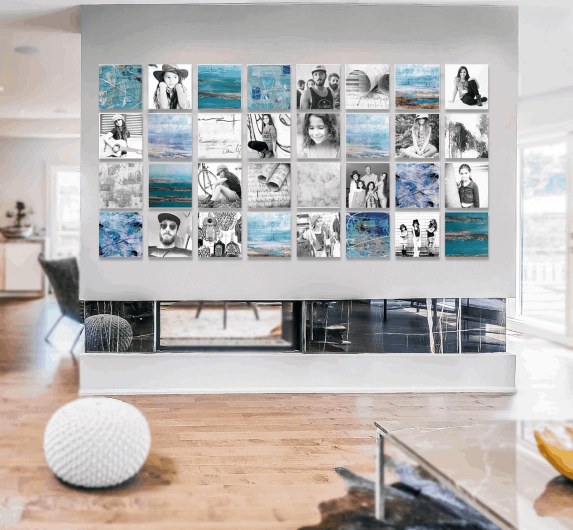 קיר משפחה – קיר הכוח של הבית
