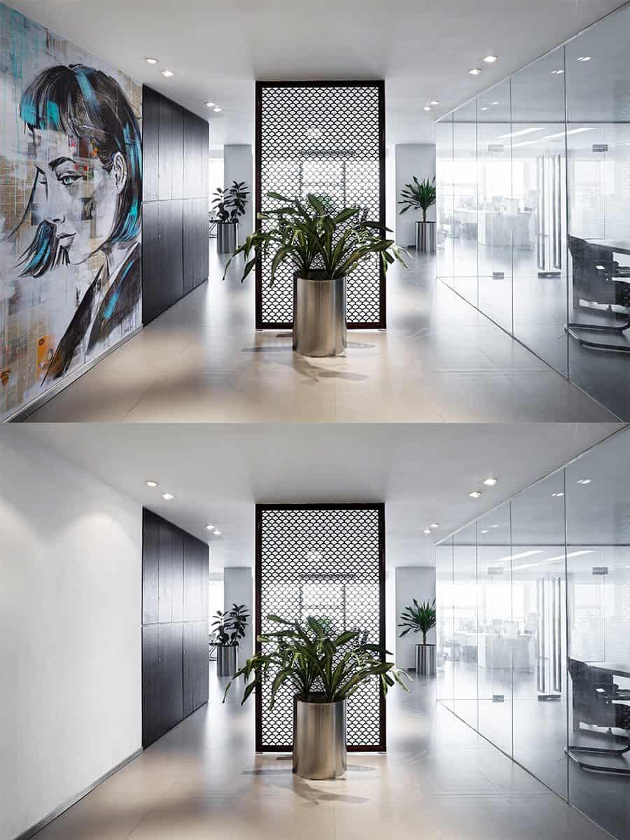 טפט לובי משרד